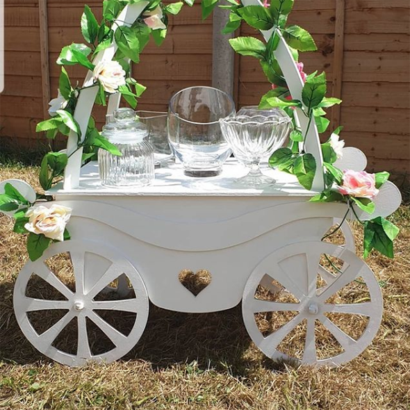 Table Top Carriage Cart