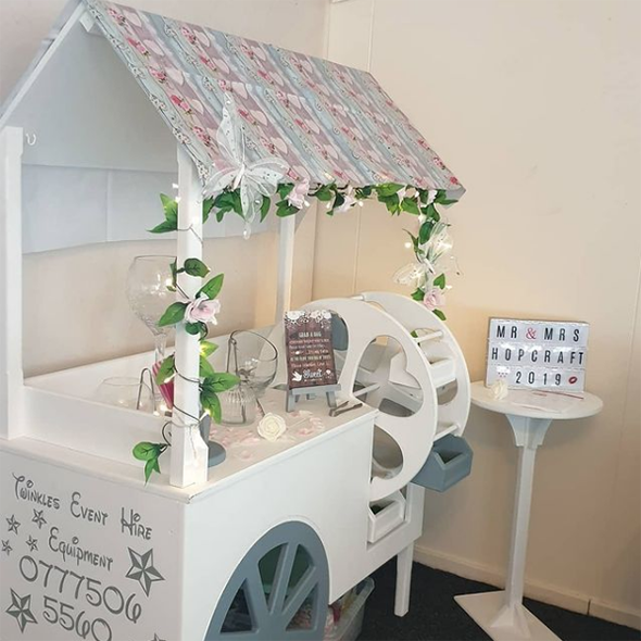 Twinkles event hire wedding Sweetcart